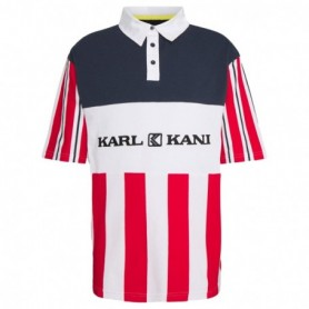 Karl Kani Retro Block Stripe Polo Tee