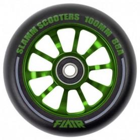 Slamm Flair 2.0 100Mm Wheels Green
