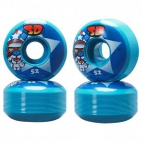 Speed Demons Characters Skateboarding Wheels 52Mm Stars Set4