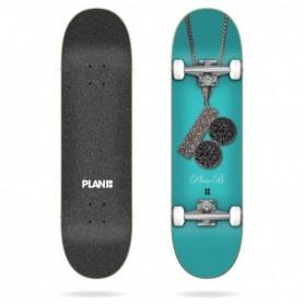"Plan B Team Chain 8.0"" X 31.85"" Complete Skateboard"