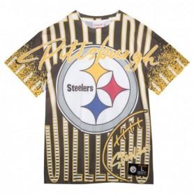 Mitchell & Ness Jumbotron Submimated Tee Pittsburgh Steelers