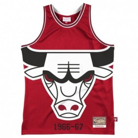 Mitchell & Ness Nba Blown Out Fashion Jersey Chicago Bulls