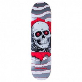 """Powell Peralta Ripper One Off Silver 8.0"""" Deck"""