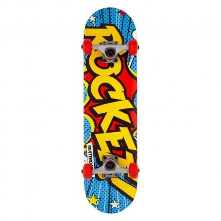 Rocket Rocket Complete Skateboard Popart