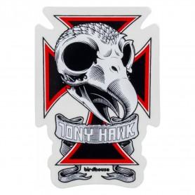 Birdhouse Bird House Sticker Skull 2