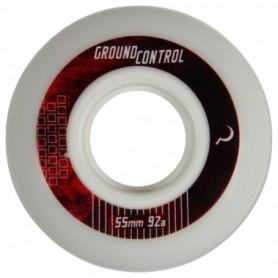 Ground Control Wheel 55Mm 92A White