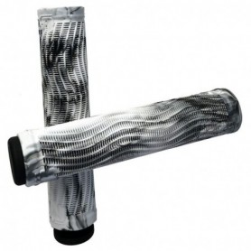 Raptor Slim Grips Swirl White/Black