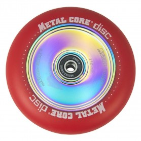 Rueda Metal Core Disc 110 Red 110Mm
