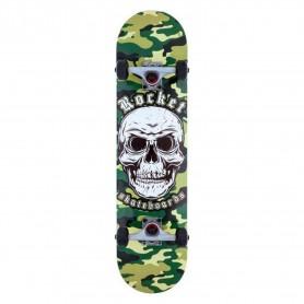 Rocket Rocket Complete Skateboard Combat Skull Camo