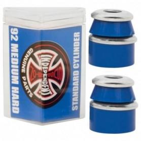 Independent Standard Cylinder Cushions Hard 92 Blue