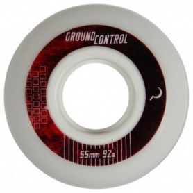 Ground Control Wheel 55Mm 92A White