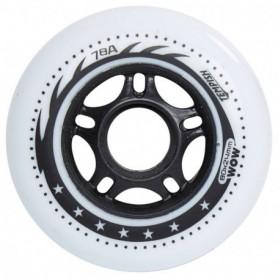 Tempish Tempish Woow Pu Wheel Set 4Pcs 80Mm